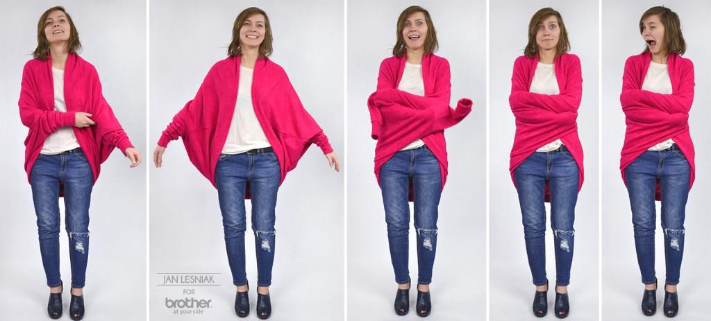 DIY: Wełniany sweter oversize