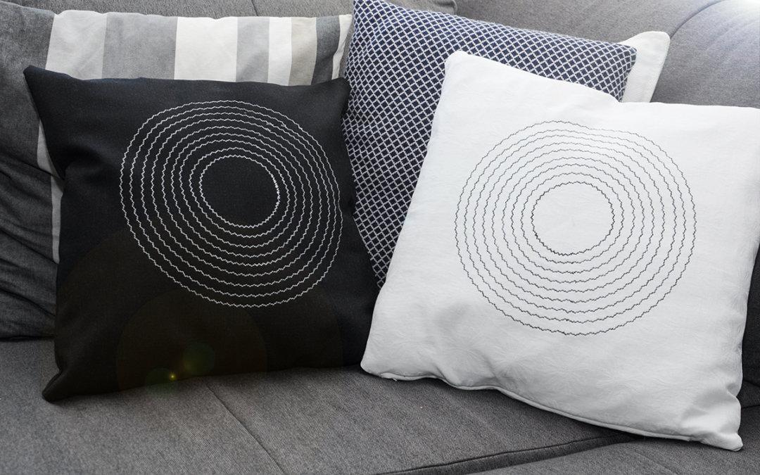 DIY: Własnoręcznie uszyta poduszka :)