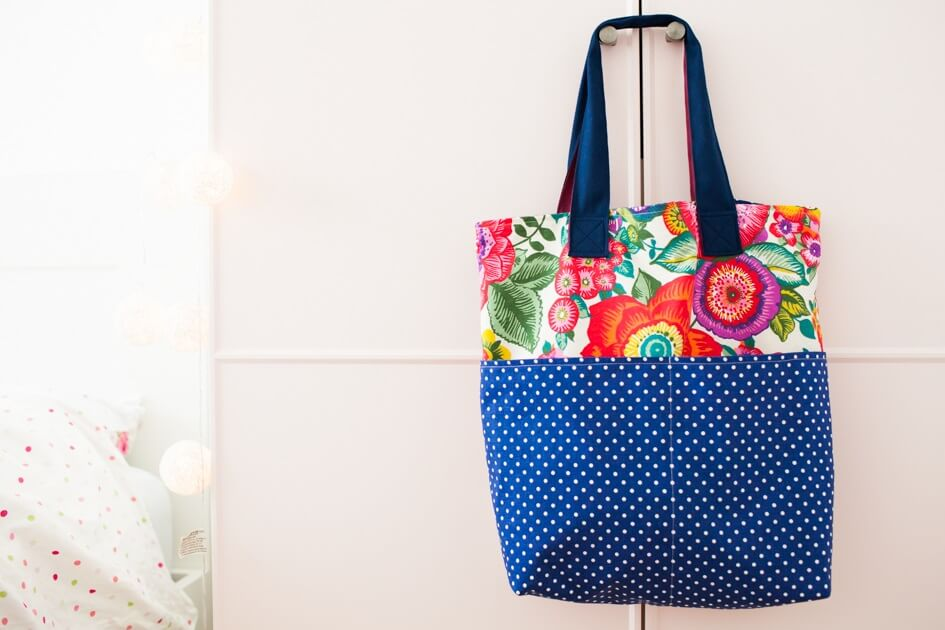 Jak uszyć torbę z podszewką i kieszeniami :)