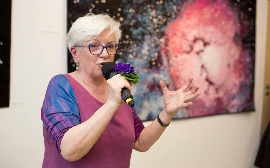 Przestrzeń sensoryczna – wystawa patchworków Anny Sławińskiej