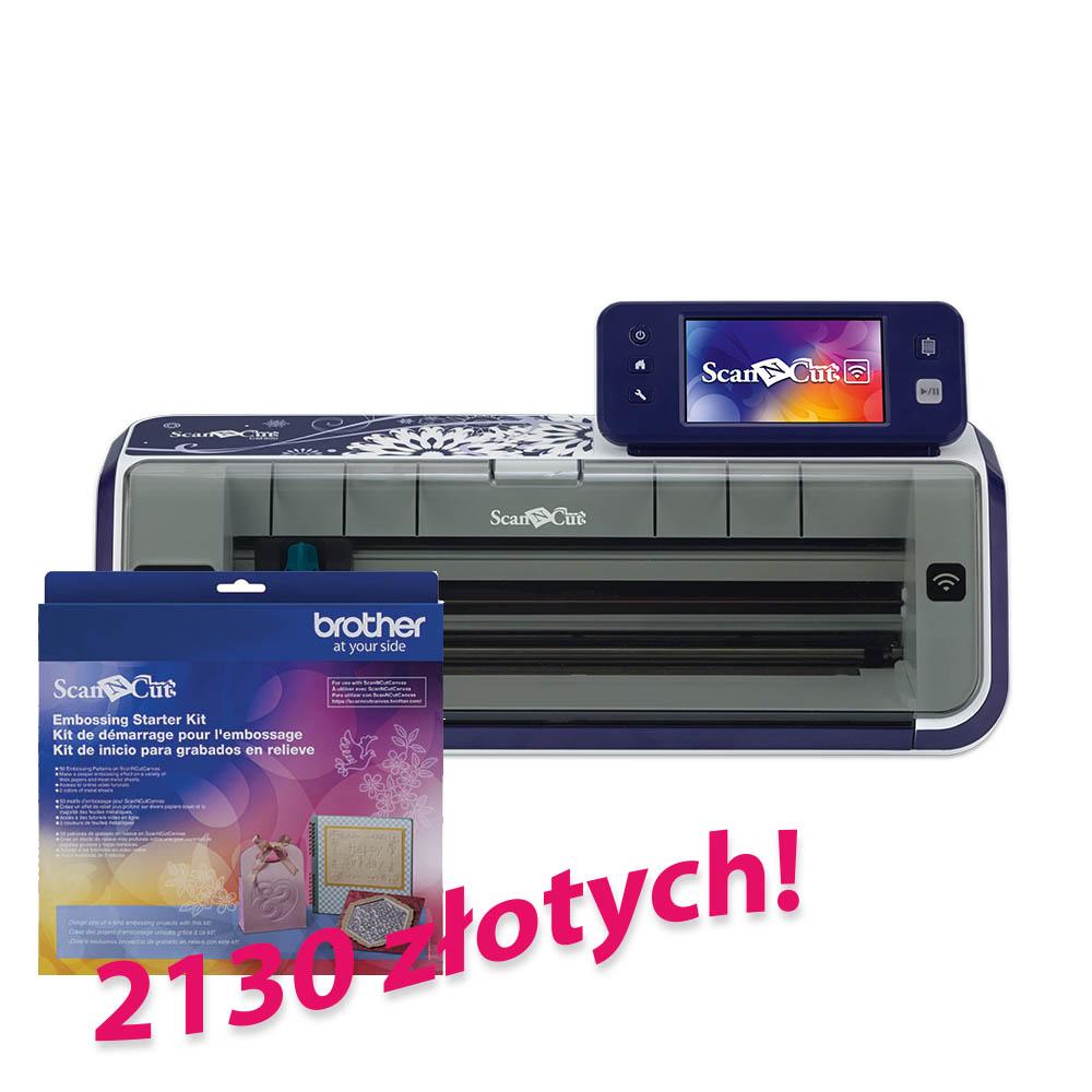 Brother ScanNCut CM900 + zestaw CAEBSKIT1 za 2130 zł!