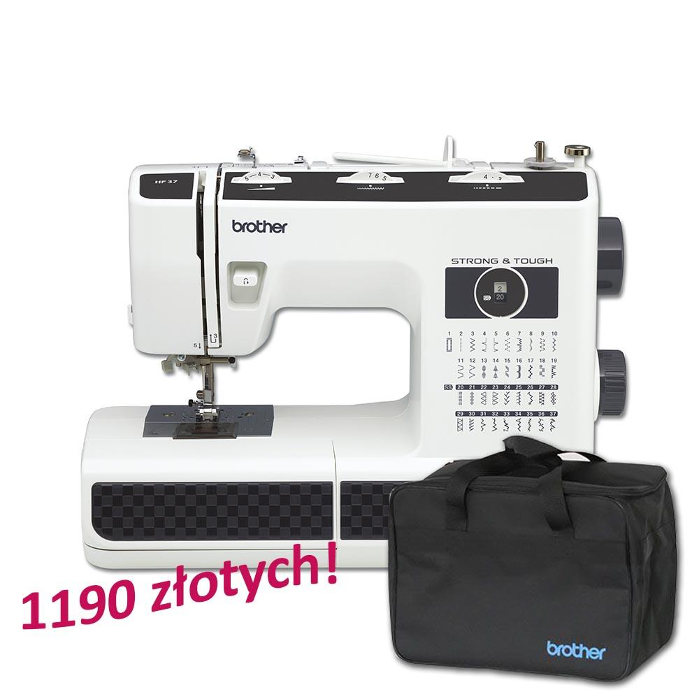Maszyna Brother HF37 + torba na maszynę gratis!