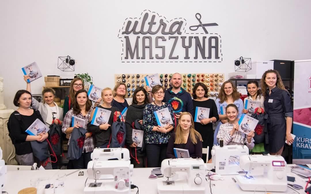"""Premiera nowej książki Janka Leśniaka """"Jak szyć spódnice i sukienki"""""""