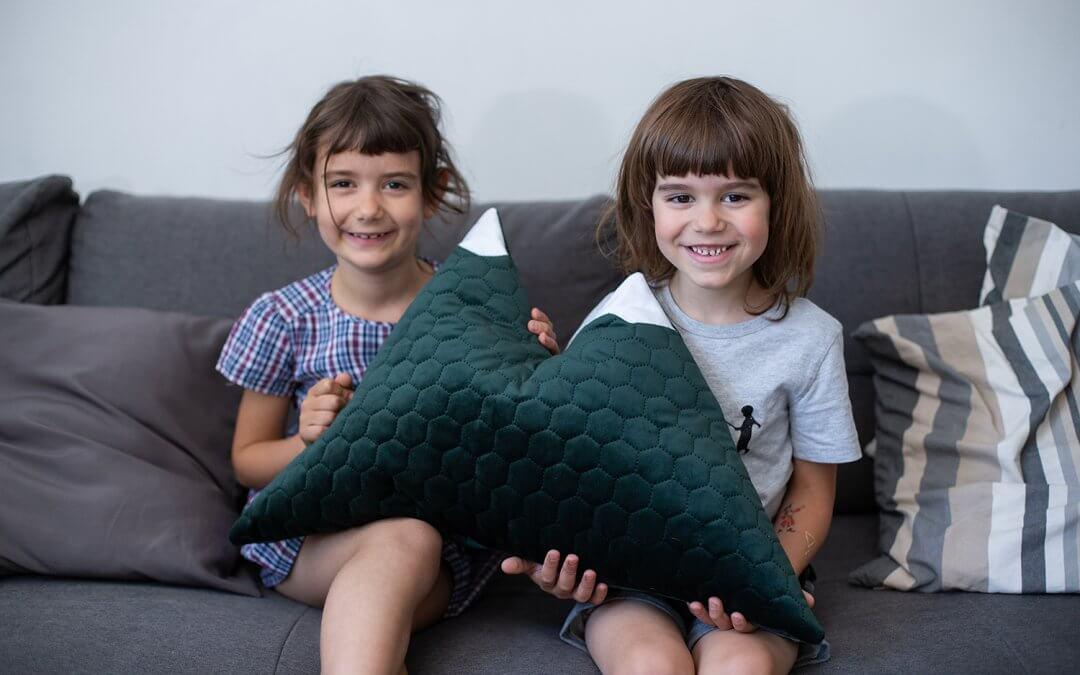 Tutorial: Poduszka w kształcie góry :)