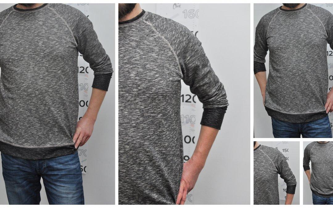 Tutorial: Męska bluza z ozdobnymi przeszyciami