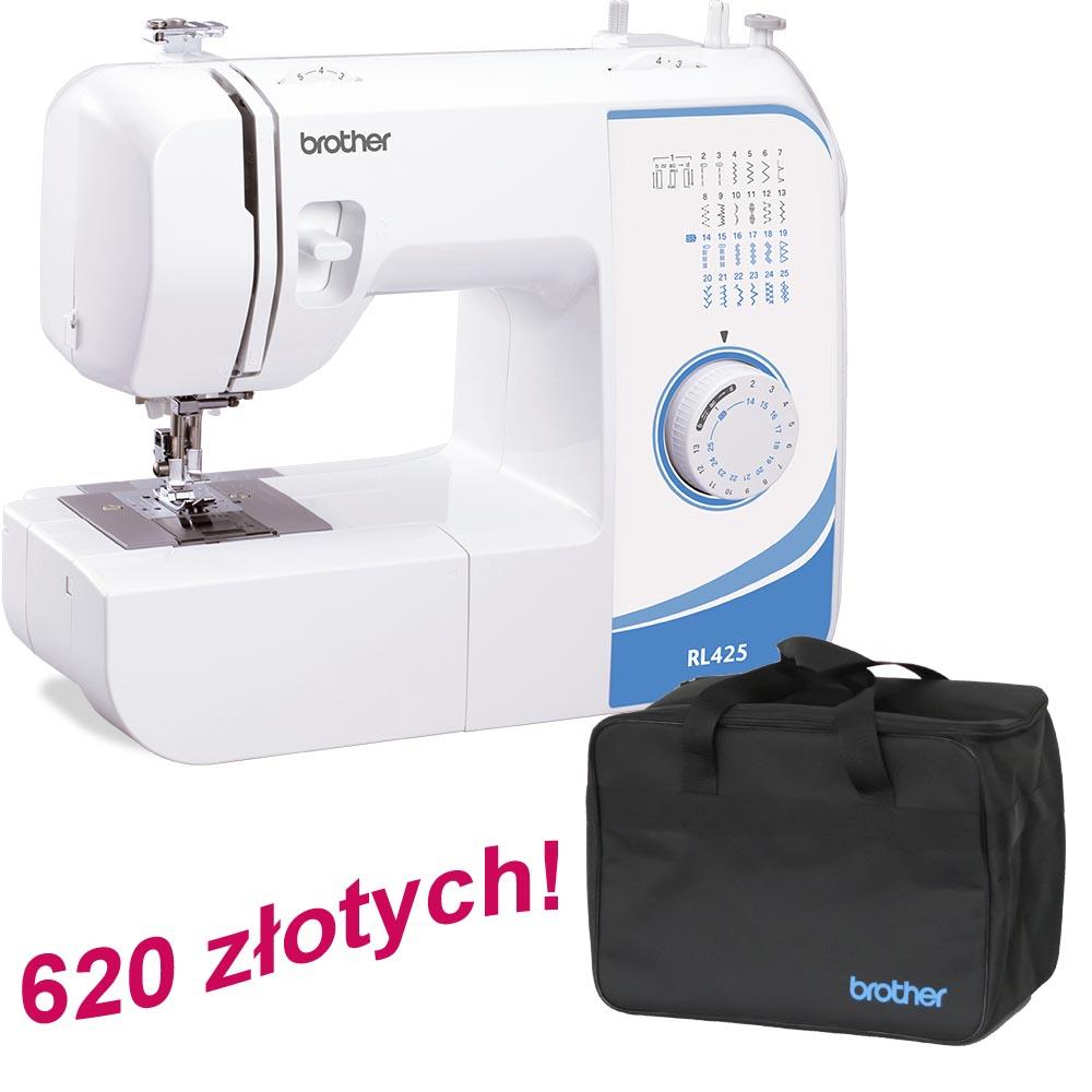 Maszyna Brother RL425 + torba na maszynę gratis!