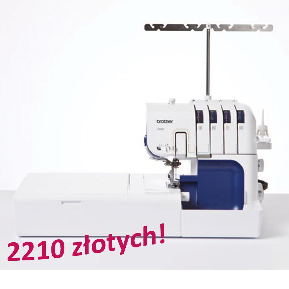 Brother 4234D+ stolik SERGERWT za 2210 zł!