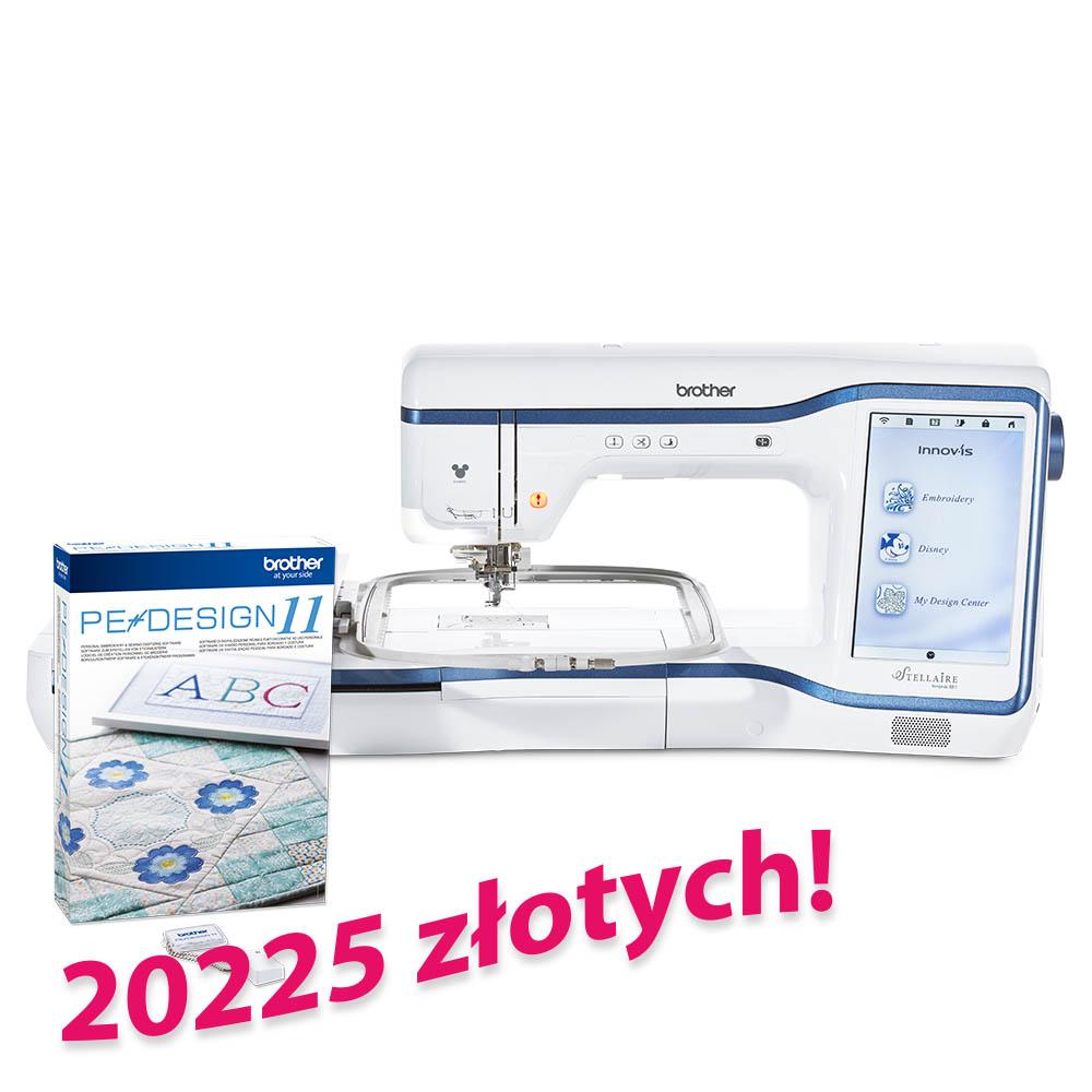 Brother XE1+ program do projektowania haftów PE Design 11 za 20225 złotych!