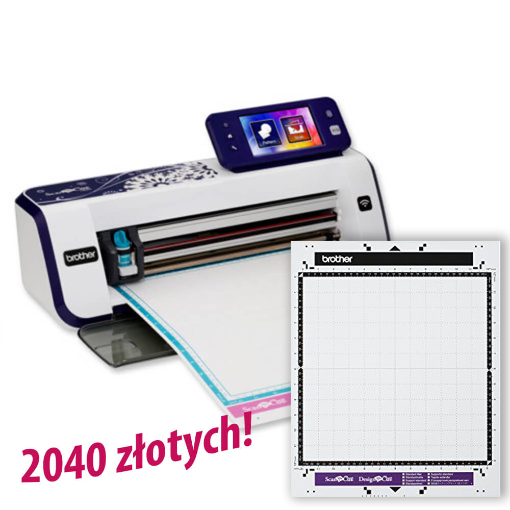 Brother ScanNCut CM900 + mata CAMATSTD12 za 2040 zł!